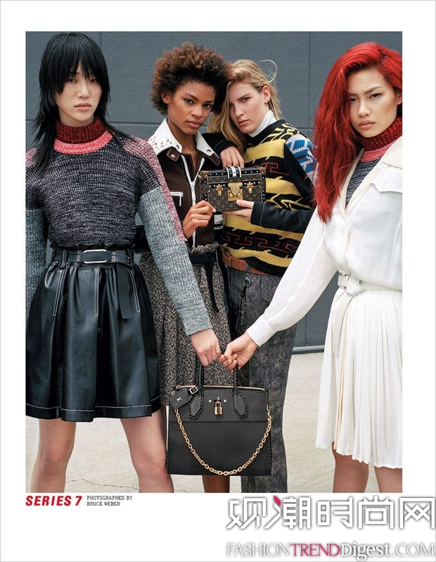 Catherine Deneuve, Sophie Turner, Jaden Smith等人演绎Louis Vuitton 2017秋冬系列广告大片高清图片