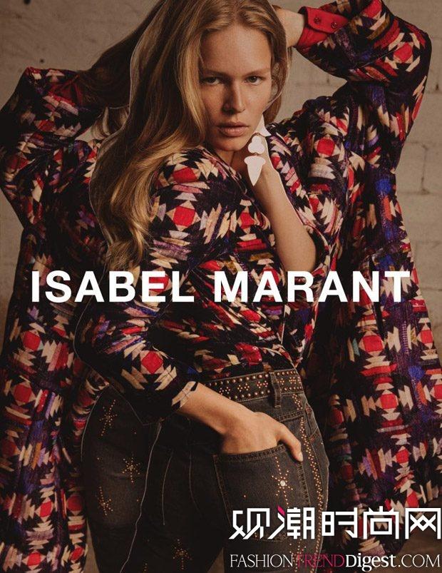 Isabel Marant 2017秋冬系列广告大片高清图片
