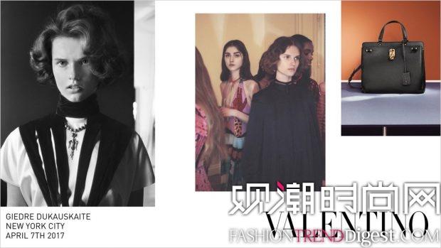 Valentino 2017秋冬系列广告大片高清图片