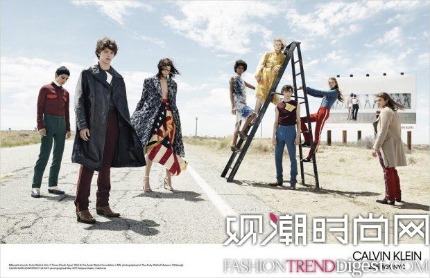 Calvin Klein 2017秋冬系列广告大片高清图片