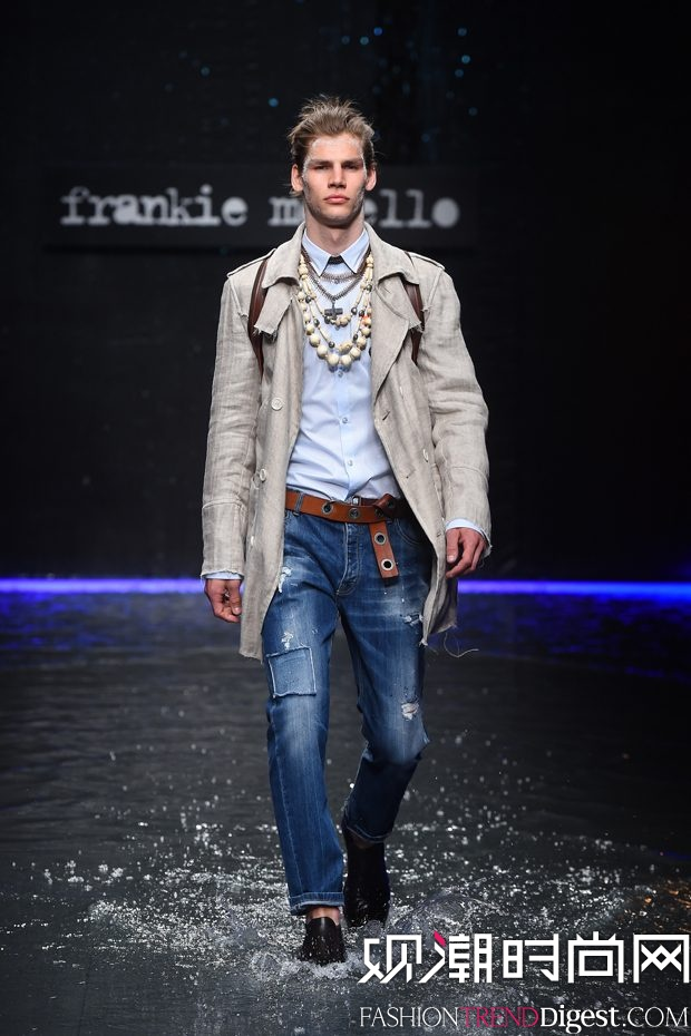 Frankie Morello 2018春夏系列秀场高清图片