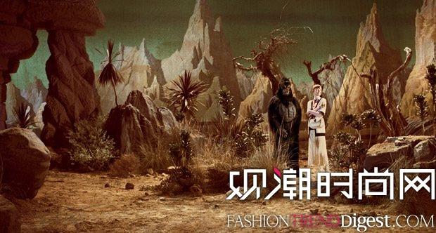 Gucci 2017秋冬系列广告大片高清图片