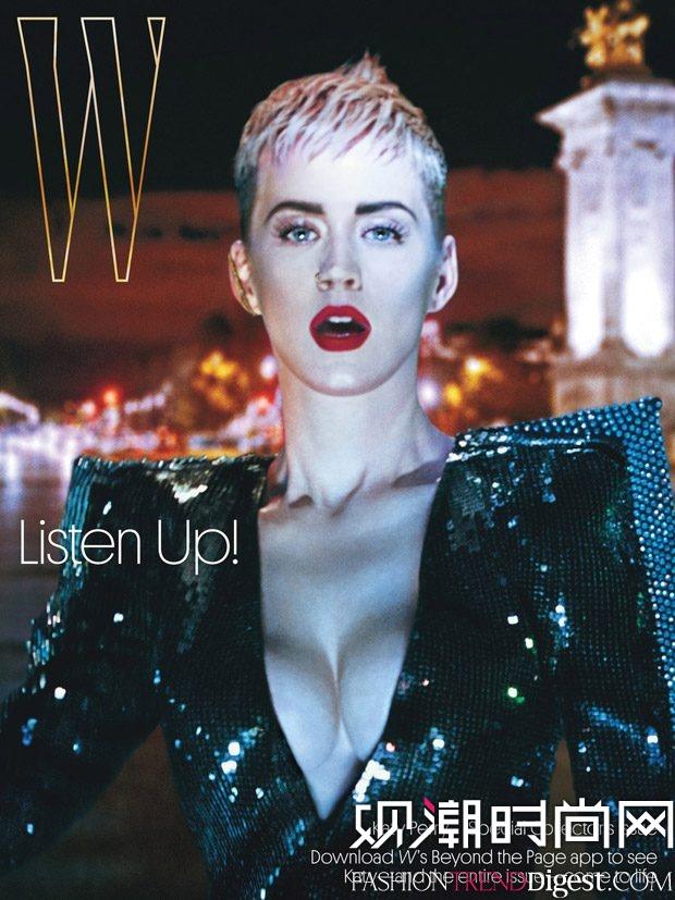 Katy Perry演绎《W Magazine》2017年9月杂志封面高清图片