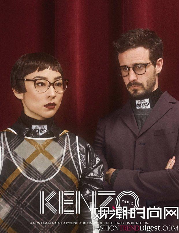 KENZO 2017秋冬系列广告大片film高清图片