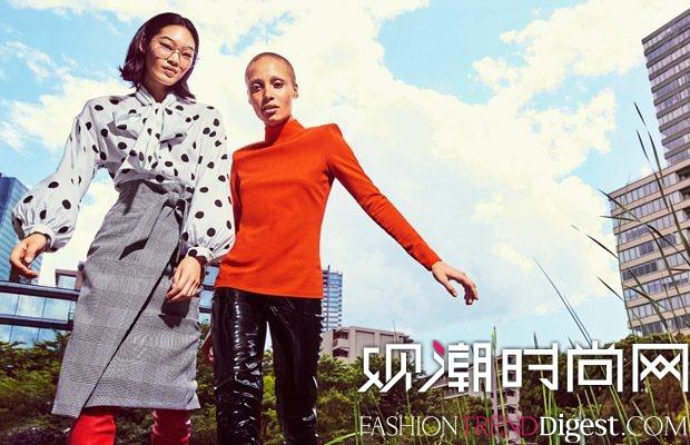 H&M 2017秋冬女装系列广告大片高清图片
