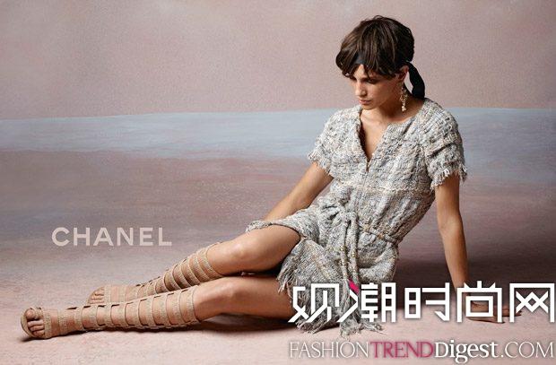 CHANEL 2017秋冬系列广告大片高清图片