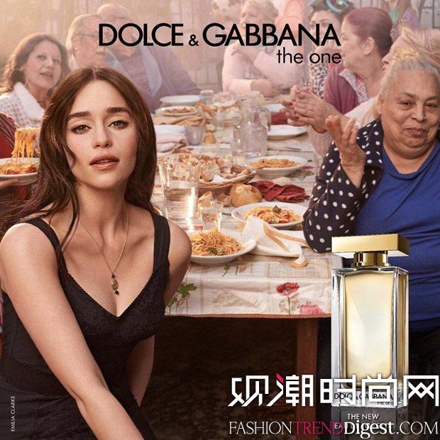 Dolce & Gabbana 最新香水广告大片高清图片