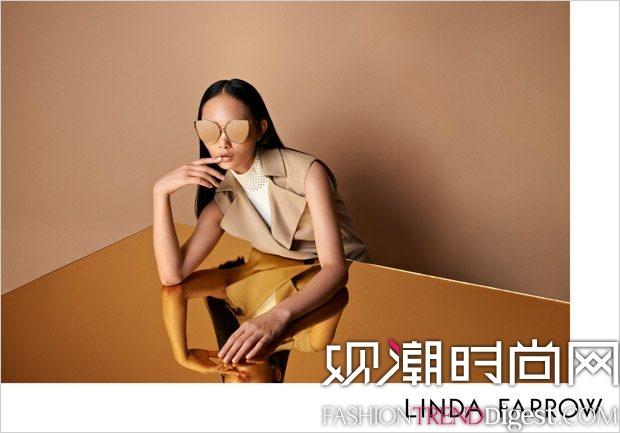 Linda Farrow 2017秋冬系列广告大片高清图片