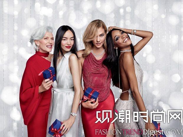 Swarovski 2017假日系列广告大片高清图片