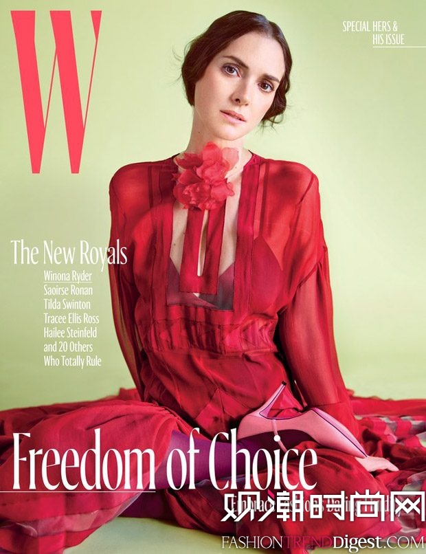 Mario Sorrenti拍摄《W Magazine》2017年10月杂志封面高清图片