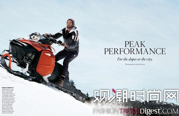 Chad White 为《Bergdorf Goodman》2017年秋冬刊演绎杂志大片高清图片