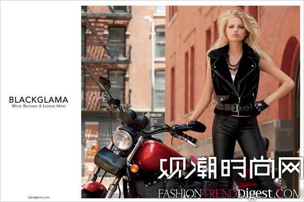 Blackglama 2017秋冬系列广告大片高清图片