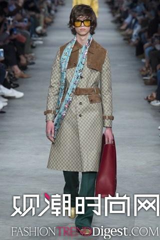 Gucci 2016春夏米兰男装周高清图片