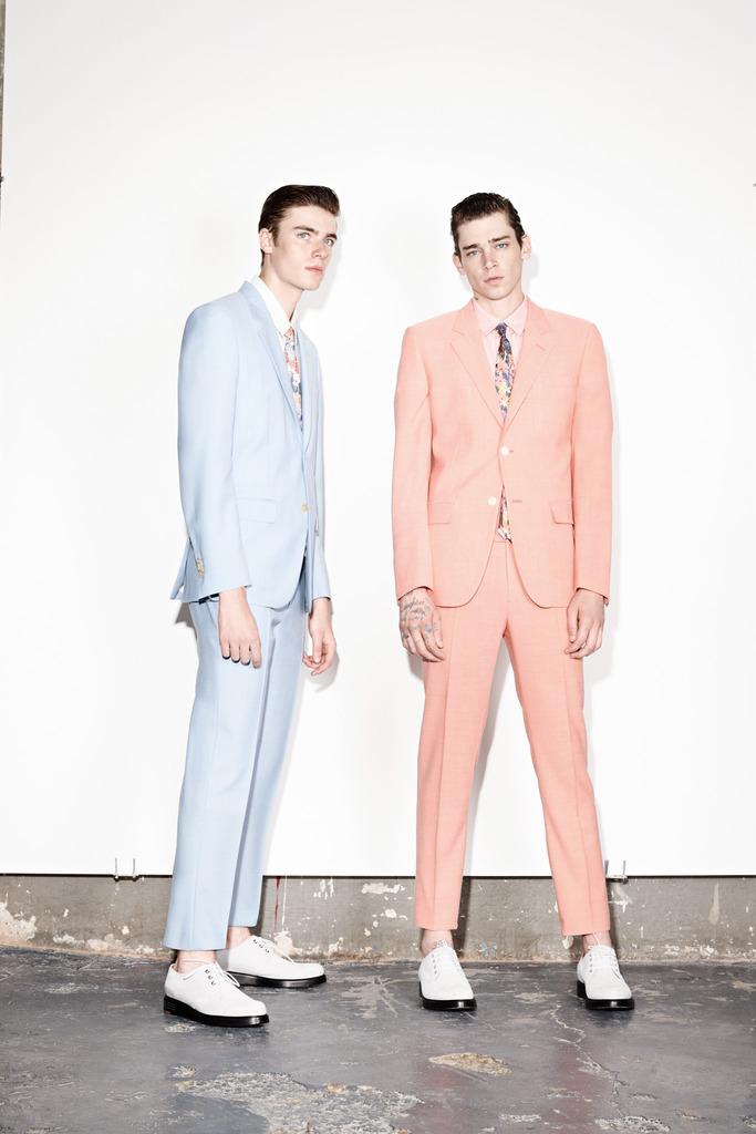Marc Jacobs 2014春夏男装 米兰高清图片