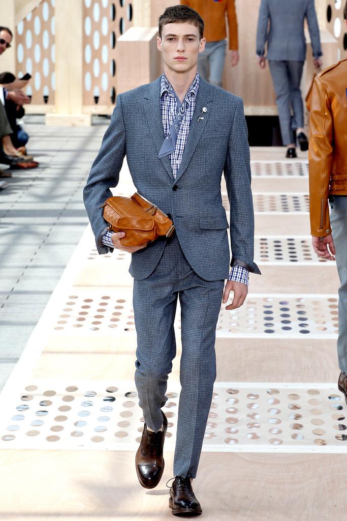 Louis Vuitton 2014春夏男装 巴黎高清图片