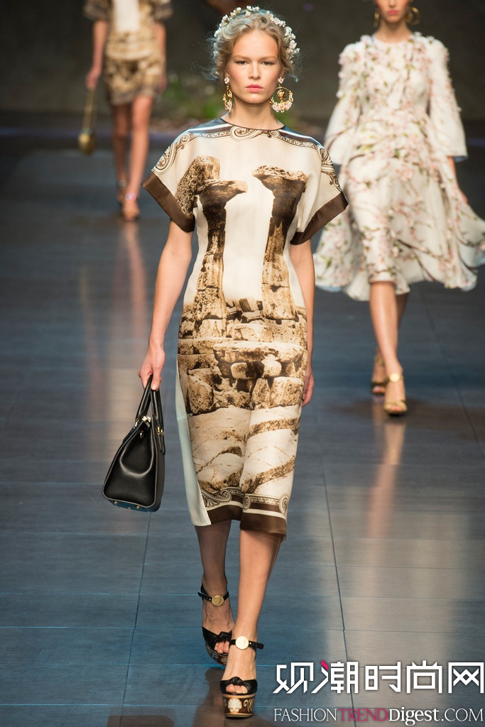 Dolce & Gabbana  2014米兰春夏时装周高清图片