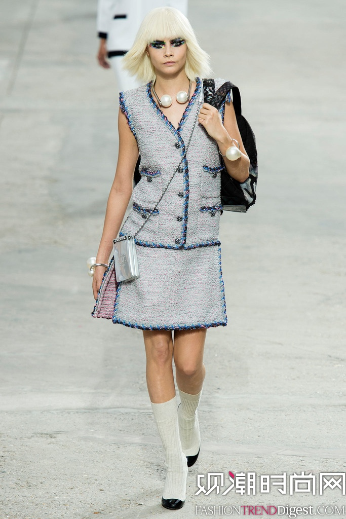 Chanel  2014巴黎春夏时装周高清图片