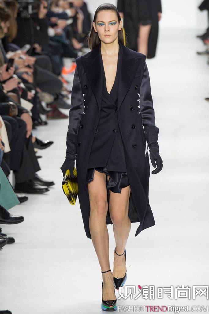 Dior 2014秋冬巴黎时装周女装秀场高清图片