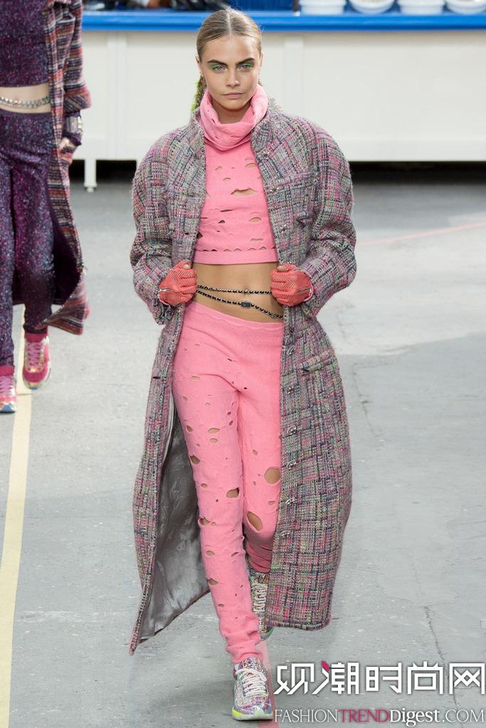 Chanel 2014秋冬巴黎时装周女装秀场高清图片