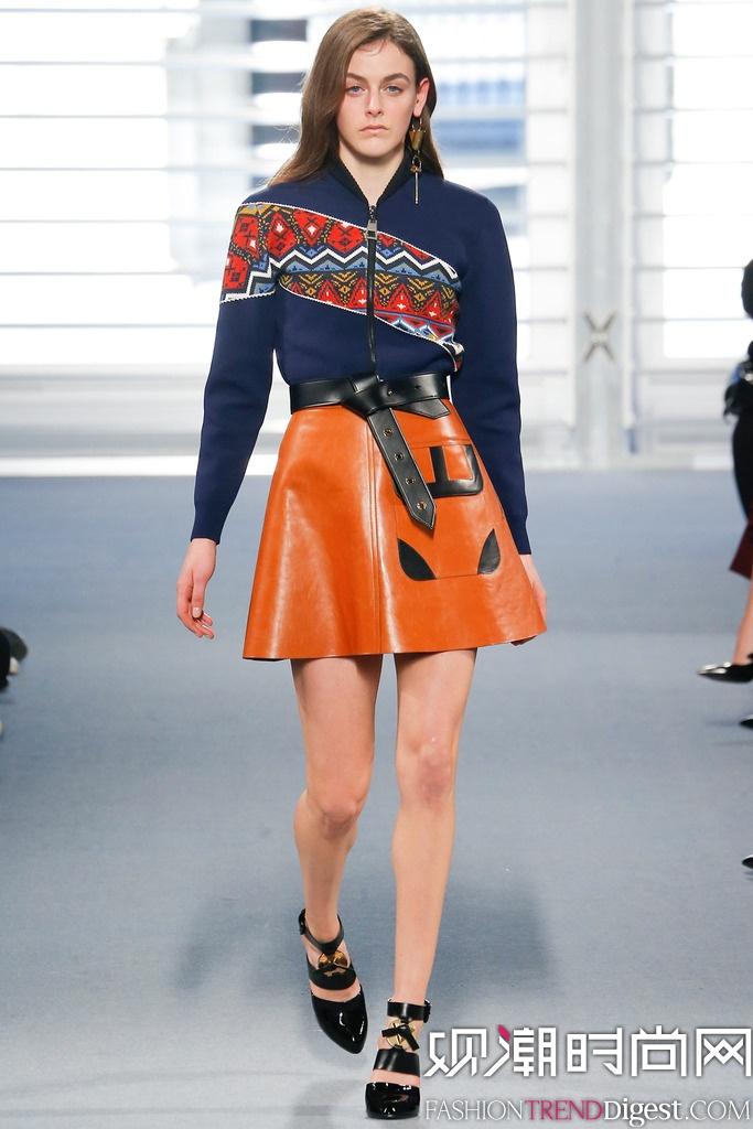 Louis Vuitton 2014秋冬巴黎时装周女装秀场高清图片