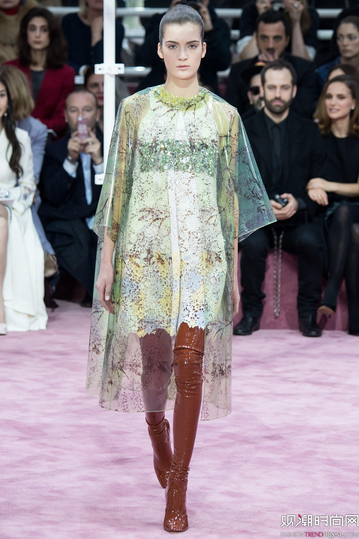 Christian Dior 2015春夏高定系列秀场高清图片