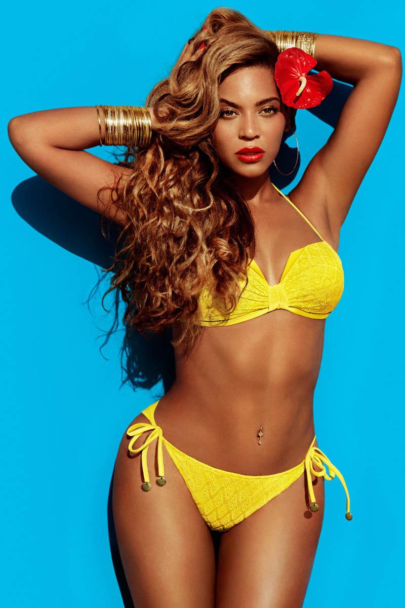 BEYONCE 演绎 H&M 2013夏季广告高清图片