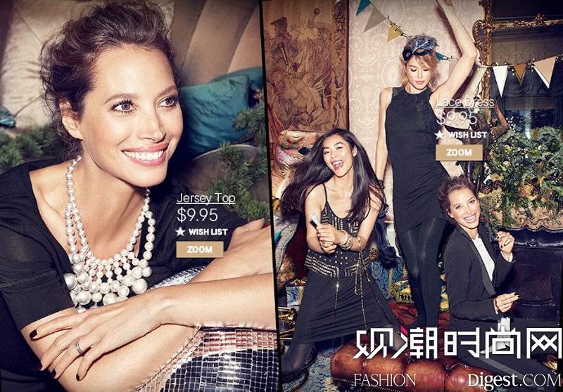 H&M 2013假日系列广告高清图片