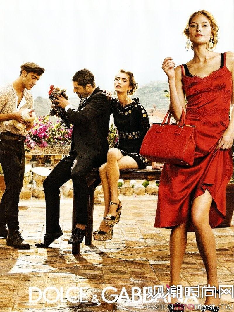Dolce & Gabbana 2014春夏广告高清图片