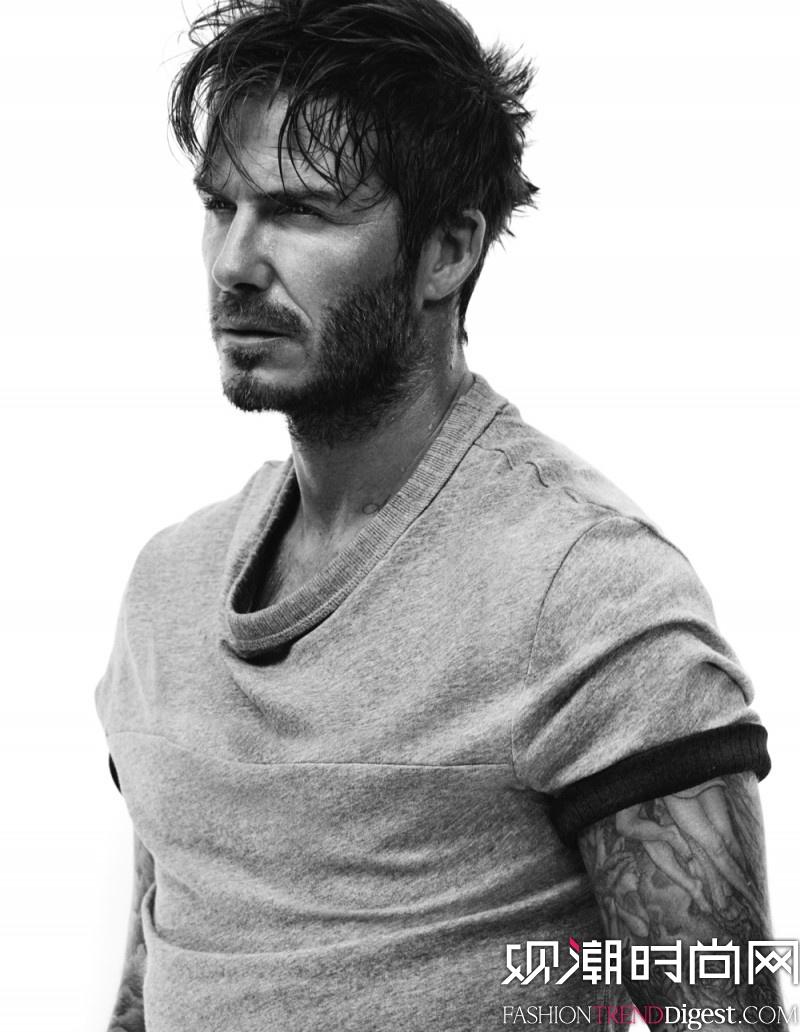 David Beckham 再次出镜 H&M 2014秋冬合作系列广告大片高清图片