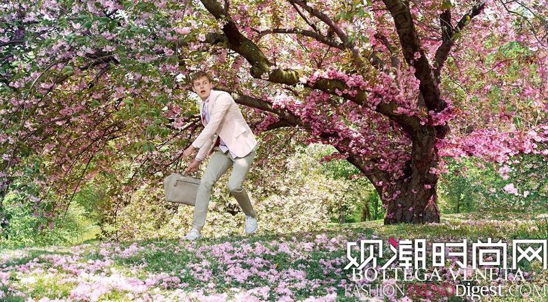 Bottega Veneta 2015早春系列广告高清图片