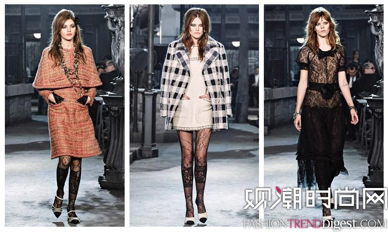 Chanel 2016早秋系列秀场高清图片