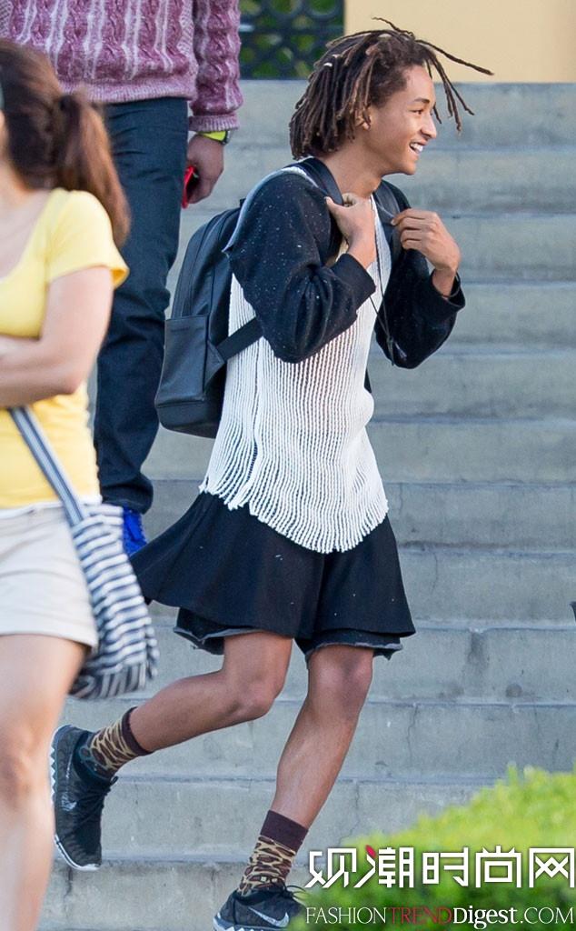 Jaden Smith参演Louis Vuitton 2016春夏系列广告大片高清图片