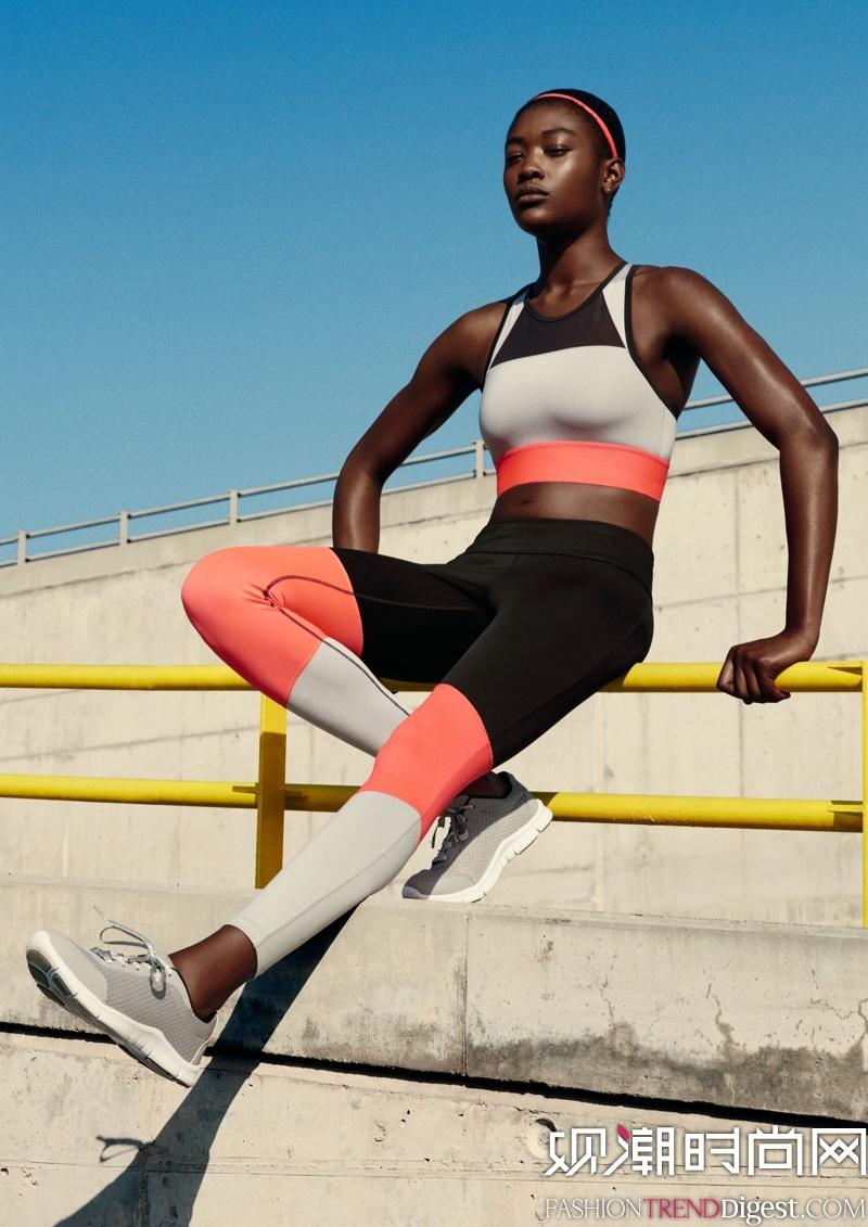 H&M Sport 2016年春夏系列广告大片高清图片