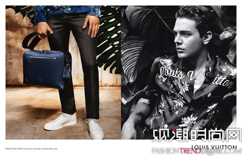 Louis Vuitton 2016春夏男装系列广告大片高清图片
