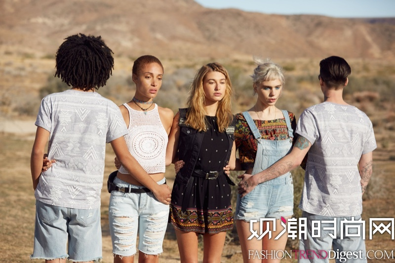 H&M x Coachella 2016春夏系列广告大片高清图片