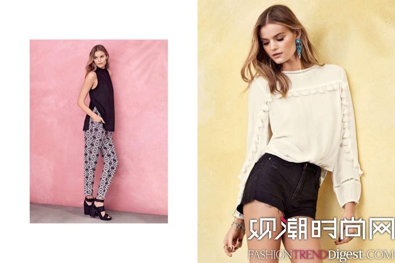 H&M2016春夏最新系列LOOKBOOK高清图片
