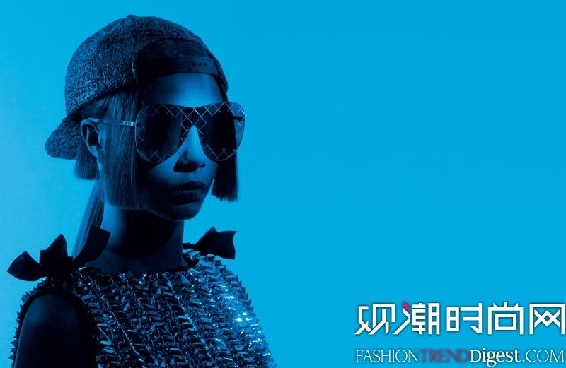 Chanel Eyewear 2016春夏系列广告大片高清图片