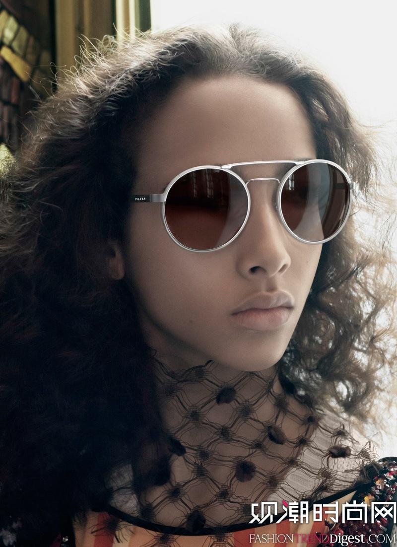 Prada 2016春夏眼镜系列广告高清图片