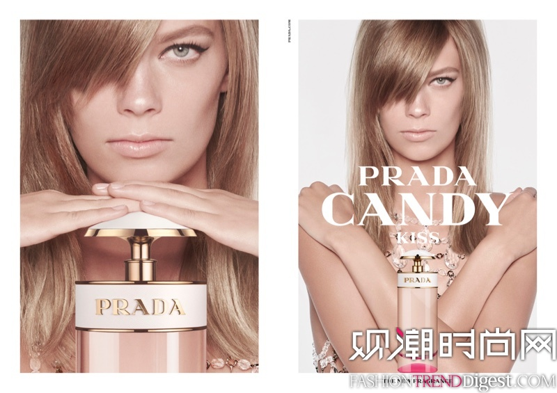 Prada Candy Kiss香氛 2016春夏系列广告高清图片