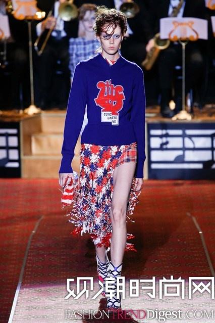 Marc Jacobs 2016春夏系列纽约时装周高清图片