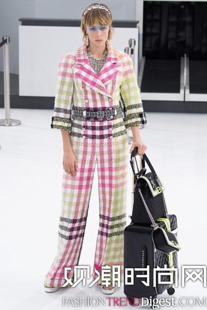 Chanel 2016春夏成衣系列looklook高清图片