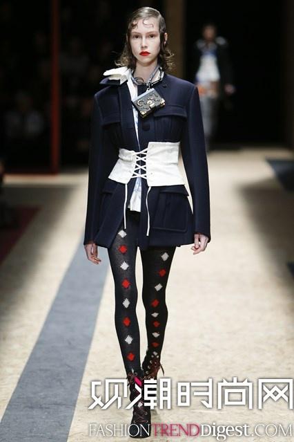 Prada 2016秋冬系列米兰时装周高清图片