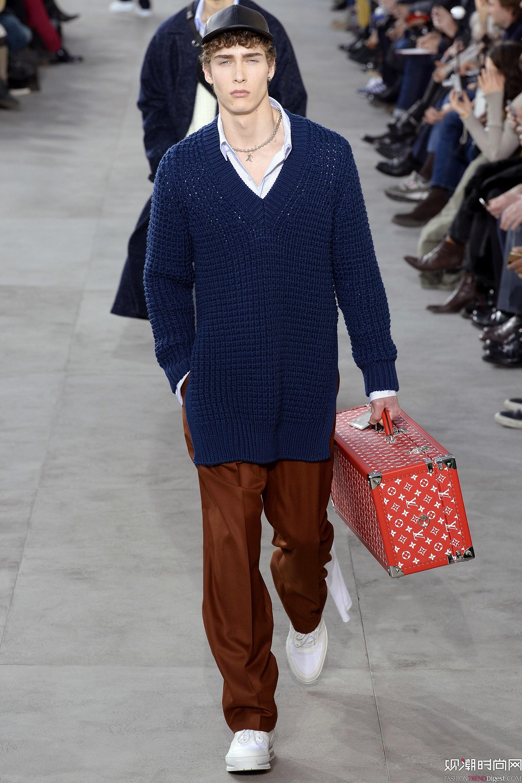 Louis Vuitton 2017秋冬男装系列秀场高清图片