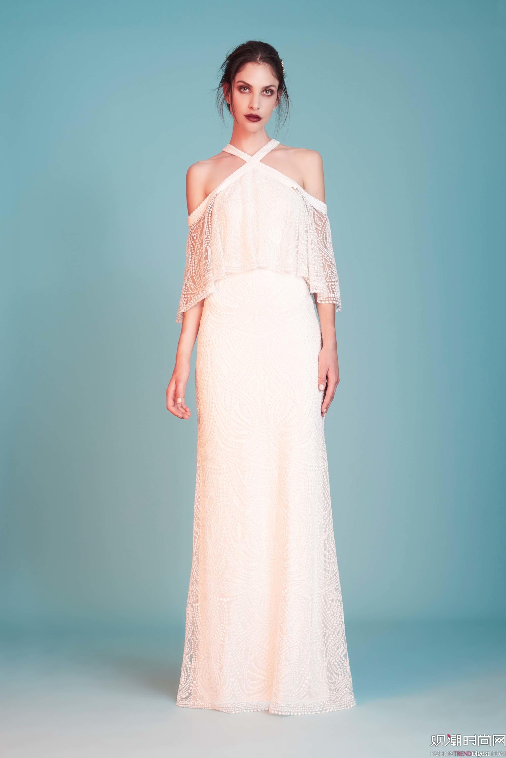 Tadashi Shoji 2018婚纱系列LookBook高清图片