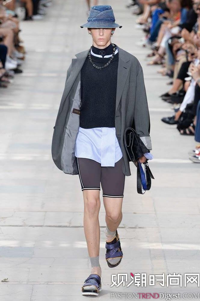Louis Vuitton 2018春夏男装系列秀场高清图片