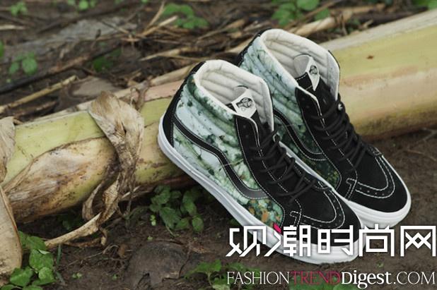 春季 推出 合作/Della与Vans合作推出2014春季最新鞋款。