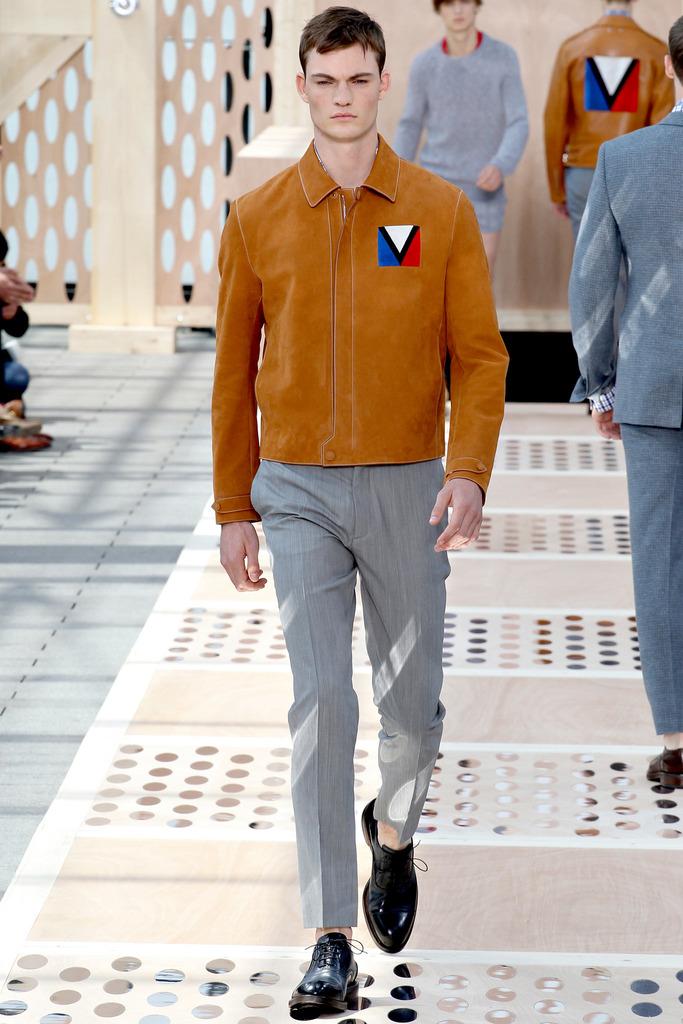 巴黎/Louis Vuitton 2014春夏男装巴黎