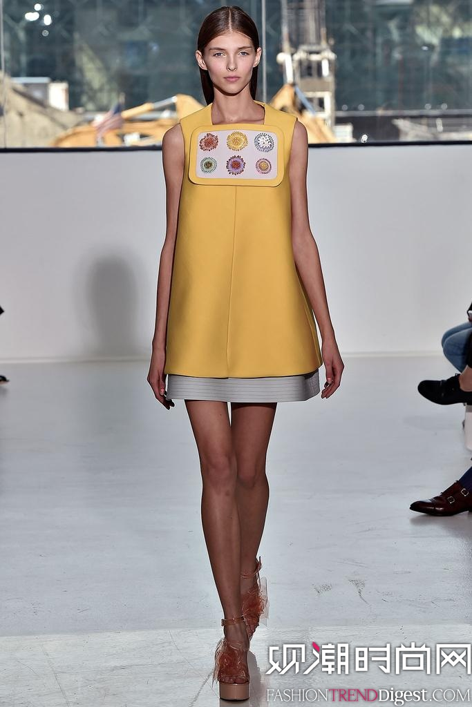 Delpozo 2015春夏纽约时装周秀场高清图片-品