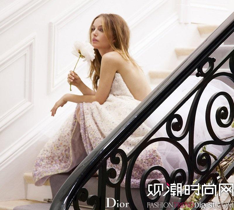 natalie portman代言miss dior最新香水广告