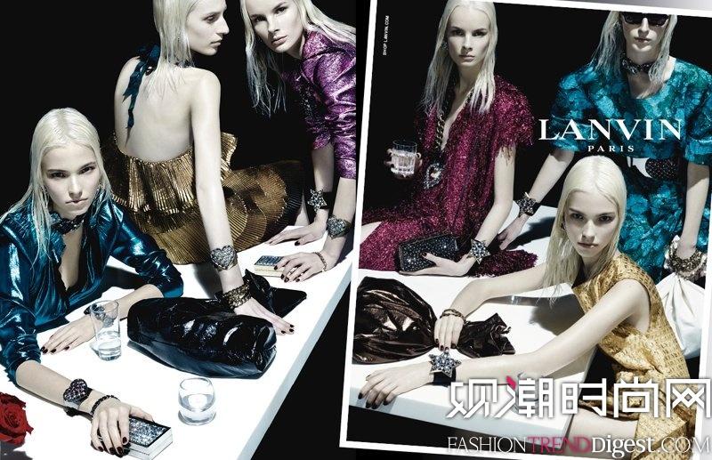 Lanvin 2014春夏女装广告高清图片 品牌库